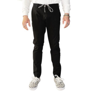 BEABLE PANTALONE COTONE MIKE SHORTER PSTS21 NERO