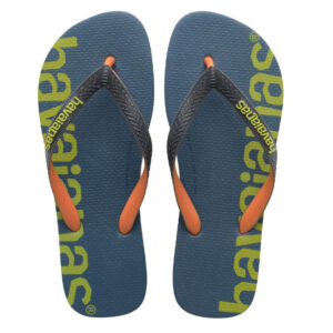 HAVAIANAS 41457270047 TOP LOGOMANIA HIGHTECH PETROLEUM