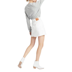 Levi's® DECONSTRUCTED SKIRT DONNA 77882 0010 BIANCO