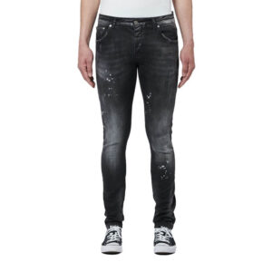 MYBRAND JEANS 1X21003B0010 BLACK DISTRESSED