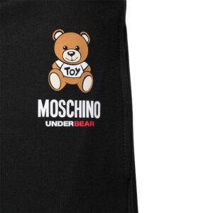 MOSCHINO HOME PANTS UOMO A4325 8120 555 BLACK