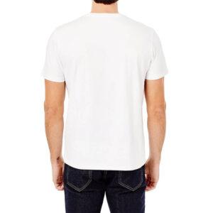 BEN SHERMAN 64040 010 T SHIRT DRUM TARGET TEE WHITE