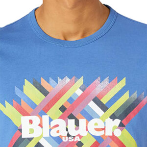 BLAUER T SHIRT MANICA CORTA 21SBLUH02393 4547 801 LIGHT BLUE