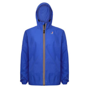 K-WAY UOMO LE VRAI 3.0 CLAUDE K004BD0 618 BLUE ROYAL