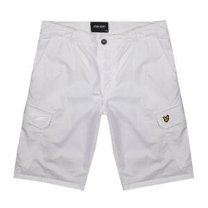 LYLE & SCOTT SHORT CARGO SH002IT BIANCO