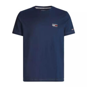 TOMMY JEANS T SHIRT CHEST LOGO DM0DM10099 C87 NAVY