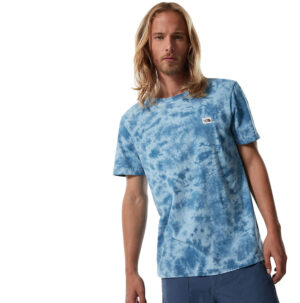 THE NORTH FACE T SHIRT UOMO NATURAL DYE TEE MONTEREYBLUWASH NF0A55SW0EF