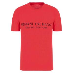 ARMANI EXCHANGE T SHIRT UOMO 8NZT72 Z8H4Z 1400 RED
