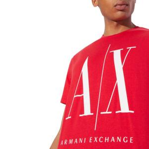 ARMANI EXCHANGE T SHIRT UOMO 8NZTPA ZJH4Z 1400 RED