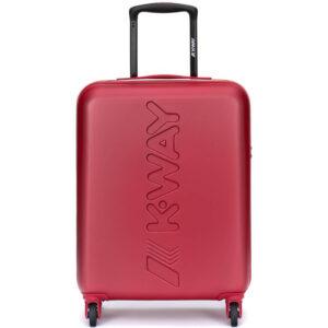 K-WAY TROLLEY AIR CABIN KK111JMW A03 RED BLACK TORBA