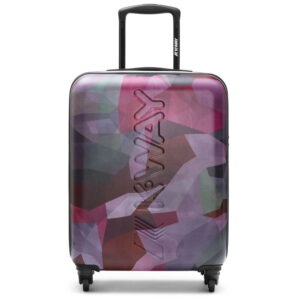 K-WAY TROLLEY K AIR GRAPHIC K111JRW D71 PINK CAMO