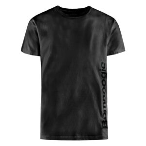 BOMBOOGIE T SHIRT VERTICAL SIDE LOGO PRINTED TEE TM6972T JIN 90 BLACK