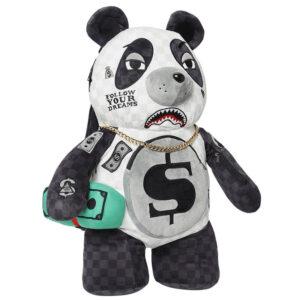 SPRAYGROUND TEDDY BEAR BACKPACK PANDA 910B3617NSZ BLACK