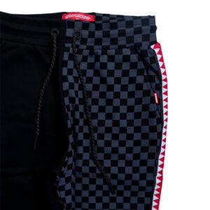 SPRAYGROUND SPUCCI SPLIT PANTS SP113 UOMO BLACK