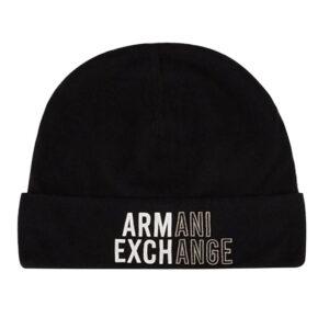 ARMANI EXCHANGE BEANIE UOMO 954660 1A300 00020 BLACK