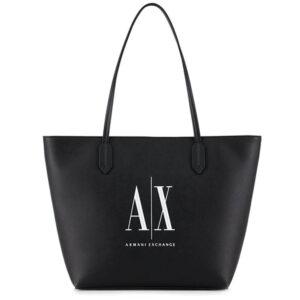 ARMANI EXCHANGE SHOPPING BAG 942575 0P198 00121 BLACK