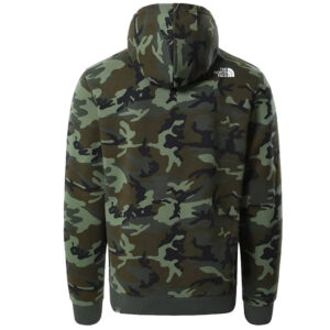 THE NORTH FACE FELPA ZIP UOMO M OPEN GATE NF00CG462871 CAMOUFLAGE
