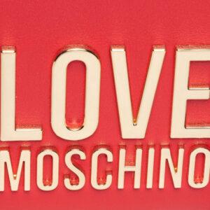 LOVE MOSCHINO BORSA BONDED PU ROSSO JC4107PP0DLJ050A