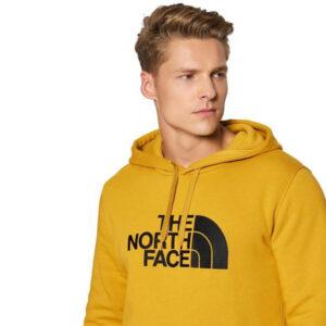 THE NORTH FACE FELPA UOMO M DREW PEAK NF00AHJYH9D OCRA