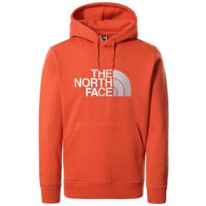 THE NORTH FACE FELPA M DREW PEAK NF00AHJYEMJ ARANCIONE
